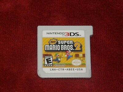 New Super Mario Bros. 2 (Nintendo 3DS, 2012) TESTED WORKS