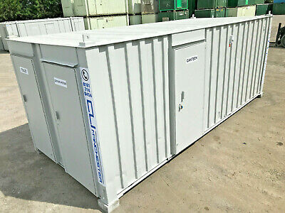 21ft x 9ft - Anti Vandal Welfare Unit | Canteen | Toilet | Drying Room |Refurbed