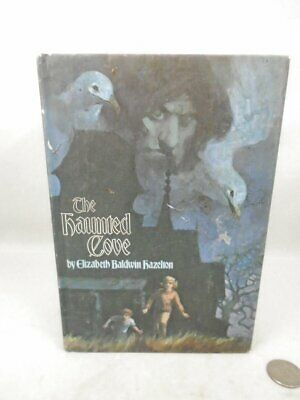 1971 Childrens Mystery Book The Haunted Cove by Elizabeth Hazelton HC Weekly Rea