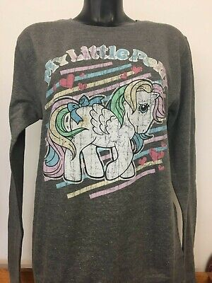 My Little Pony Officially Licensed Sweatshirt - size Medium - Grey - Sample