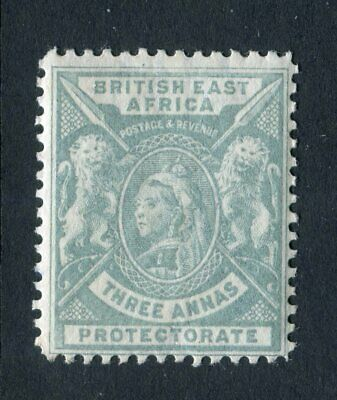 British East Africa/KUT 1896. 3a grey. MLH. SG 69.