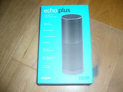 Amazon Echo Plus New/in Cellophane 1st Generation) Echo Plus.Smart Hub. Black