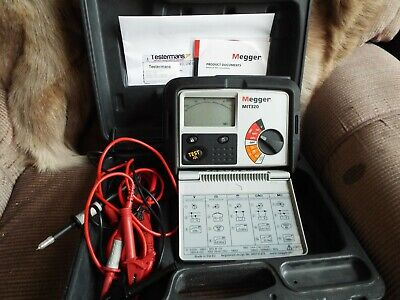 Megger MIT320 Insulation Tester Calibrated till 16.05.2020 used