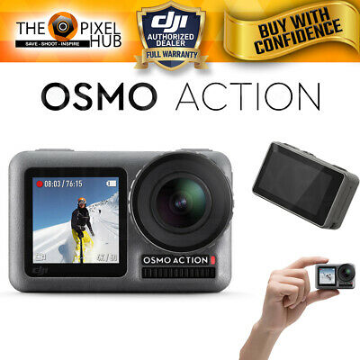 DJI Osmo Action 4K Camera - RockSteady Digital Video Stabilization Dual Screen