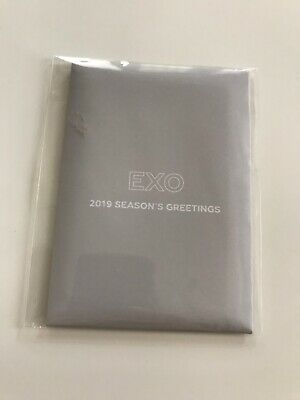 EXO official 2019 Season's Greetings WITHDRAMA pre-order benefit : Photocard set