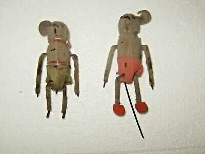 RARE Schuco Wind Up Dancing Mouse for parts