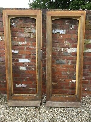 Pair of solid oak doors