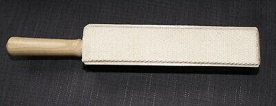 Strop for razors/knives ultimate 4 sided English leather cotton canvas and balsa