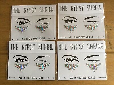 4 X The Gypsy Shrine All In One Face Jewels New Freepost