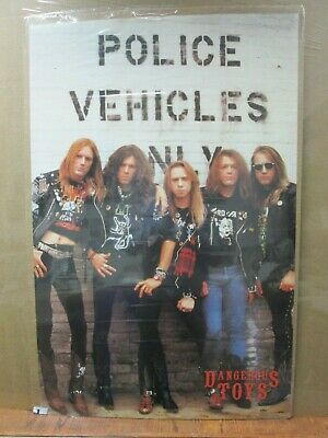 Vintage Dangerous Toys 1990 poster hard rock band artist music 13011
