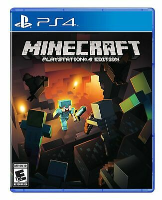 Minecraft -- PlayStation 4 Edition (Sony PlayStation 4, 2014) MINT CONDITIONS