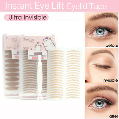 240/480 Instant Eyelid Stickers Portable Breathable Lace Invisible Anti-Wrinkle