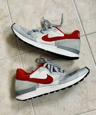 on sale 9f35e e681a Men s Nike Air Berwuda 555305-006 Size 12 Grey White Red Xtra Laces Great  Cond