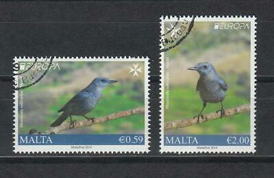 CEPT Malta   2019 Used o Bird  set