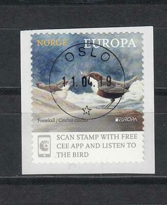CEPT Norway Norge Norwegen   2019 Used o Bird   from Coil