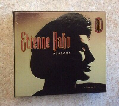 ETIENNE DAHO Rare 4 CD'S DIGIPACK BOX SET COFFRET POPZONE Virgin 1995