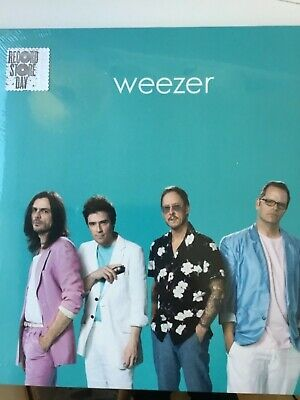 Weezer - Teal Album - Sealed Lp Vinyl Record Rsd 2019 Record Store Day New