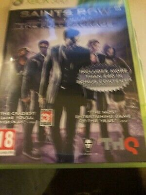 Saints Row The Third The Full Package Xbox 360 UK PAL **FREE UK POSTAGE**