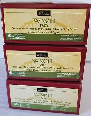 BRITAINS - WWII - 3 sets - BREAKOUT NORMANDY - Mint in Box