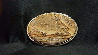 Polished Stone Belt Buckle, Hand Made In The USA