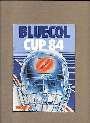 Fife Flyers v Ayr Bruins Programme  6th  October 1984  **MINT**