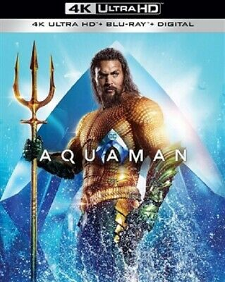 Aquaman 4K UHD 02/19 4K (used) Blu-ray Only Disc Please Read
