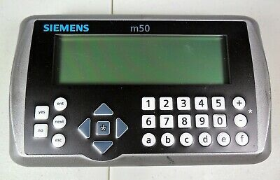 Siemens Eagle Traffic Systems NX M50 Controller Keyboard & Screen Only.