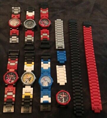 Collectible Lego Star Wars R2D2 Buildable Watch Dearth Vadar Storm Trooper Lot 7