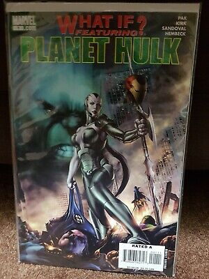 What If? Featuring PLANET HULK 1st Apparence Skaar Son of Hulk VF+