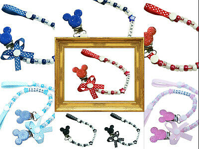 Personalised Dummy ❤Clip❤Chain❤Strap ❤Baby Girl ❤Baby Boy❤ 🎀Buy 3 Get 1 fREE🎀