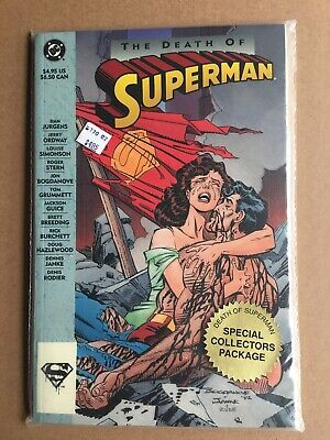 Superman The Death of Superman TPB (1993 DC) 1st Edition sealed from retailer NM