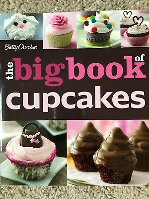 Betty Crocker The Big Book of Cupcakes (Glossy Paperback 2011) - NEW