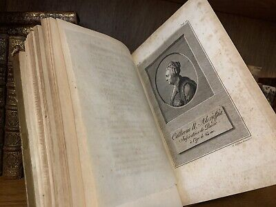 1799 HISTORY OF CATHERINE THE GREAT The Empress Russia (w/map of Russian Empire)