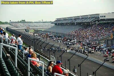 4 Indianapolis 500 Tickets • A-PENTHOUSE • Box 9 / Row D & E • Indy IndyCar