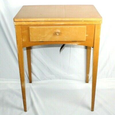 Vintage Singer Sewing Machine Cabinet 401a 500a 15-91 328k 403a 404 held a 15-91
