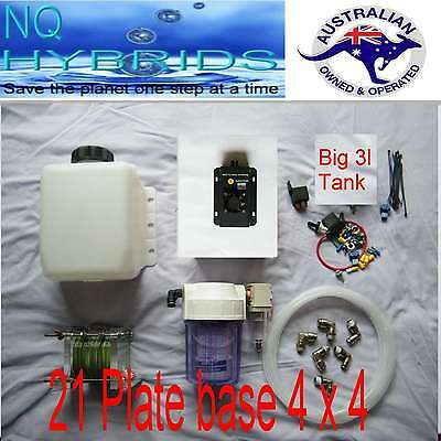 Hho Diy  21 Plate  Base Set Pwm + Combo Filter + Koh Quick Release Fitttings
