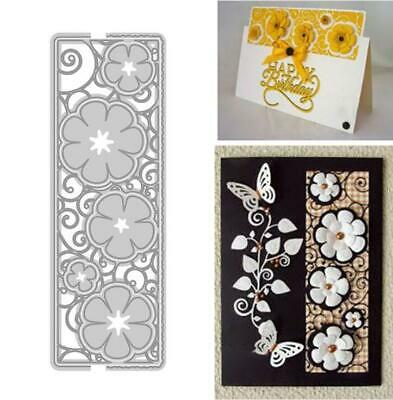 Flower Lace Metal Cutting Dies Scrapbooking AlbumEmbossing Paper Cards Frame Die