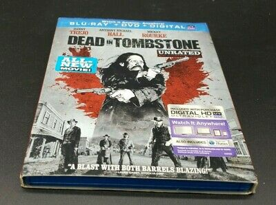 Dead In Tombstone - Unrated - Danny Trejo - BLU-RAY DVD - 2013