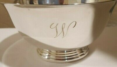 "Cartier Sterling Silver 5"" Paul Revere Bowl"
