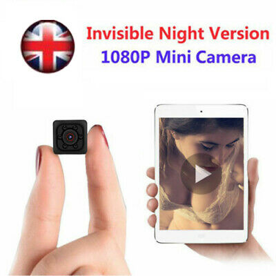 NEW Mini HD Hidden Camera Cam DVR Security Video Recording Motion Detection UK