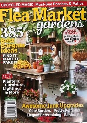 FLEA MARKET GARDENS SPRING 2019  living elle journal french cottage style