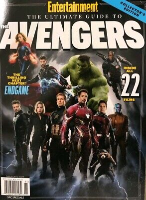 2019 ENTERTAINMENT WEEKLY SPECIAL THE AVENGERS ULTIMATE GUIDE life marvel