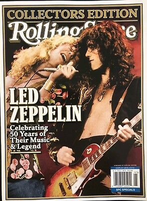 2019 LED ZEPPELIN ROLLING STONE COLLECTORS MAGAZINE GUIDE guitar music billboard