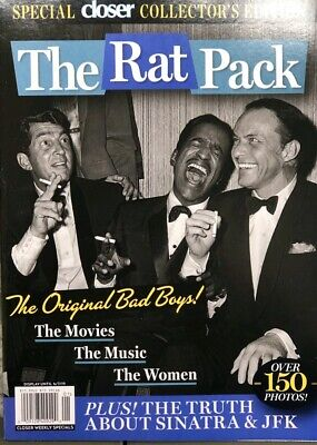 2019 CLOSER MAGAZINE SPECIAL THE RAT PACK FRANK SINATRA SAMMY DAVIS JR life time
