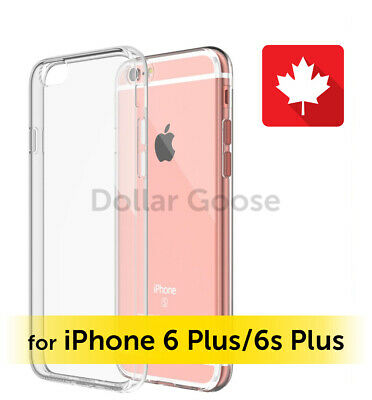 iPhone 6S Plus/6 Plus Clear Case Thin Transparent Soft TPU Silicone Back Cover