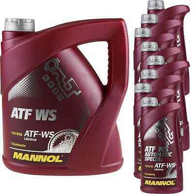 12 Liter MANNOL ATF WS Automatic Special Automatikgetriebeöl Oil 11224329