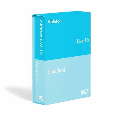 Ableton: Live 10 Standard box Full version with usb and license transfer