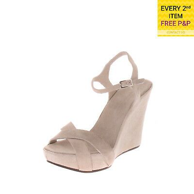 Rrp €210 Roberto Del Carlo Leather Sandals Size 37 Uk 4 Mid Heel Made In Italy Clothing, Shoes & Accessories