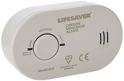 Carbon Monoxide Poisoning Alarm Co2 Detector 7 Year Protection Sensor Life Saver