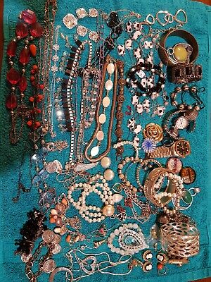 Large Bulk Lot Of Fashion Costume Jewellery Unchecked Cheap Bargain